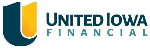 United Iowa Financial Logo White Background